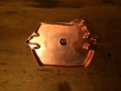 Vintage Michael Bonne Copper Noah's Ark Cookie Cutter #2