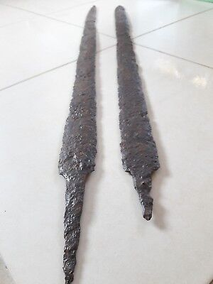 2 Sarmatian swords. Sarmatians. Original condition. Length 80 and 85 cm.