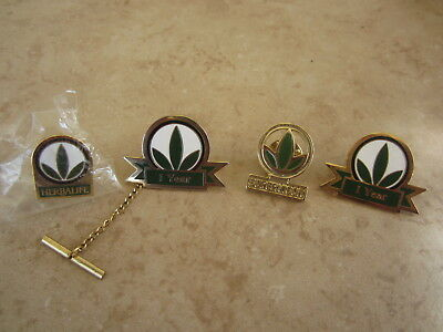 Herbalife Supervisor Green Leaf MLM Achievement Collector Lapel Hat Tack Pin