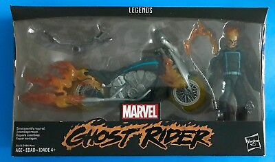 Marvel Legends Ghost Rider & Flame Cycle Loose Complete