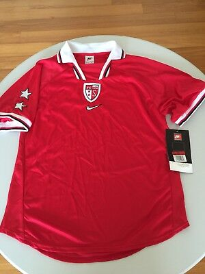 Bnwt Nike Fc Sion Football Shirt 1998 1997 1996 1995 Code 7 Player Issue Jersey