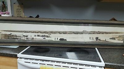 "53"" Panoramic  Photo-Roosevelt Langley Flight Line Visit July 1940 By Cheyne"