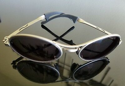 VINTAGE B&L RAY BAN G15 SILVER ECLIPSE ORBS PREDATOR WRAPs SUNGLASSES