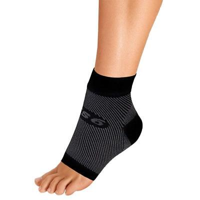 OrthoSleeve FS6 Compression Foot Sleeve Single Sleeve for Plantar Fasciitis, and