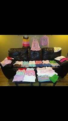 Toddler 3T Girls Clothes Lot 39 Pieces, 9 outfits, dresses, shirts