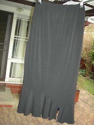 Ripe Black Maternity Skirt size L