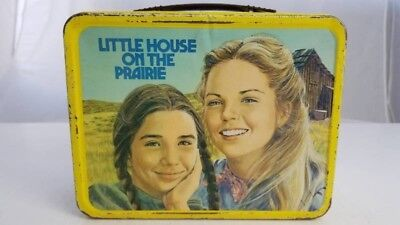1978 Little House On The Prairie lunch box in good condition