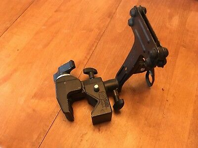 Manfrotto #035 Super Clamp With Brass Stud And #175 Art Spring Clamp