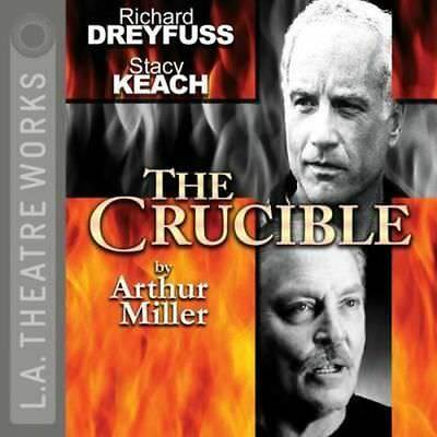 NEW The Crucible By Arthur Miller Audio CD Free Shipping