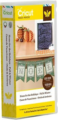 Cricut Home for the Holidays Fall & Winter Cartridge *Brand New, Sealed*