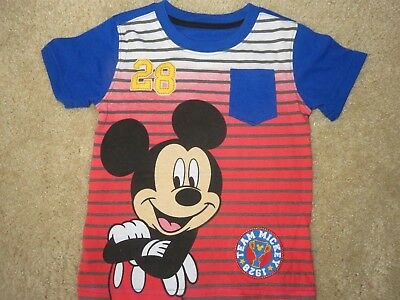 NWT Disney Mickey Mouse Toddler BOYS Size 3T Shirt Summer tshirt tee