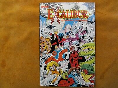 Excalibur Signed #1 1987 The Sword Is Drawn Excellent Condition