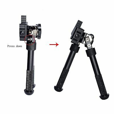 New Tactical QD 4.75-9 Inch Bipod Adjustable Bipod For Airsoft Hunting Mount