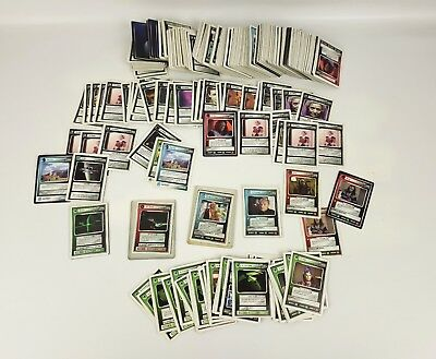 Star Trek Collectible Card Game Card Lot hundreds of cards