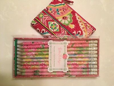 Ver Bradley Coin Purse and Lily Pulitzer Pencil Set