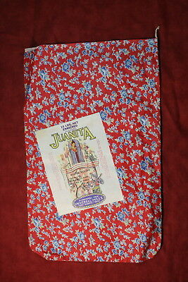 Juanita Flour 10 Fabric Pound Bag/Sack - Fort Worth, Texas