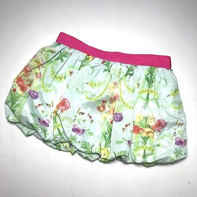 Baker By Ted Baker Bubble Skirt Floral Butterfly Pink Size 18-24 Month