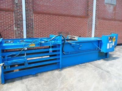 Balywel Baler by Balemaster with AMW Hopper