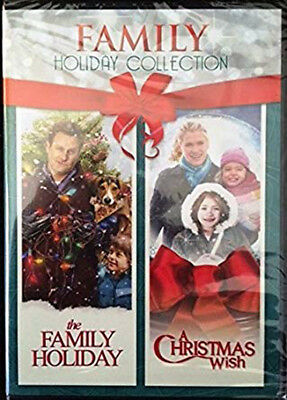 Holiday Collection: The Family Holiday & A Christmas Wish 2 Movie DVD *NEW*