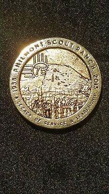 75th anniversary Philmont staff Association Philmont Scout Ranch Gold Coin