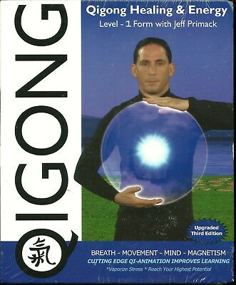 Qigong Healing & Energy  - Upgraded 3rd Edition - Blu-Ray DVD - Sealed, NEW