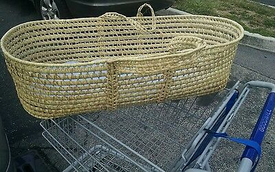JUST REDUCED by $10.00 Beautiful Moses Basket