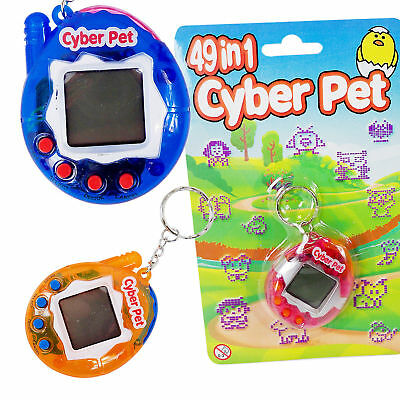 49-in-1 Cyber Pet Virtual Toy Like Tamagotchi Egg Kids Game Retro Fun Novelty
