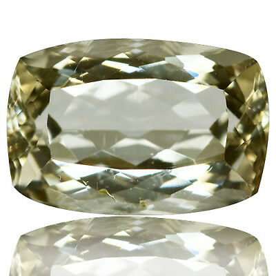 4.83 Ct Shimmering Rare Unheated Best Lustrous Yellow Scopalite !