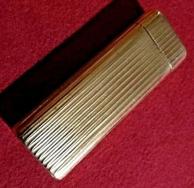 Cartier Cigarette Lighter authentic Gold plated
