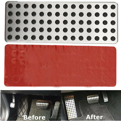 Non-Slip Foot Rest Plate Drill Footrest Pedal Dead Cover Fit For Mercedes Benz