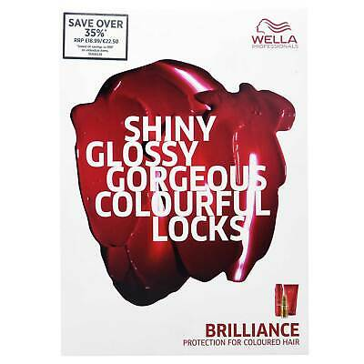 Wella Brillance Protection pour Coloured Cheveux Ensemble Cadeau 2017