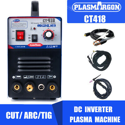3 In 1 Functional Plasma Cutter/TIG/MMA Welder Cutting Welding Machine - ct312