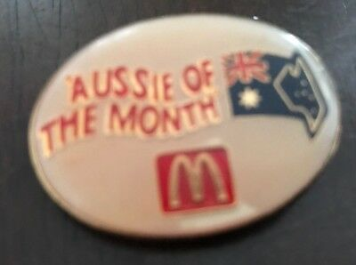 MacDonalds ' Aussie Of The Month' Badge