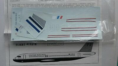 Flight Path 1:144  A320  United Airlines