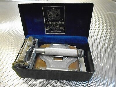 Vintage Wilkinson Sword Razor 'empire' Model In Box