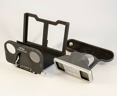 Vintage Stereo Attachment Set for Zorki Fed Leica