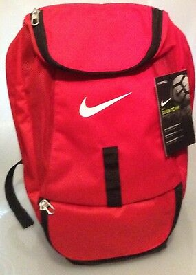 Authentic Nike Team Red Backpack- Soccer - Back To School - Brand New With Tags