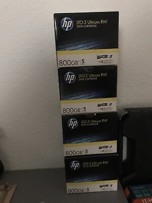 HP LTO-3 Ultrium RW 5er Packs