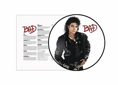 Michael Jackson - Bad / LP, limited picture disc, pre-order