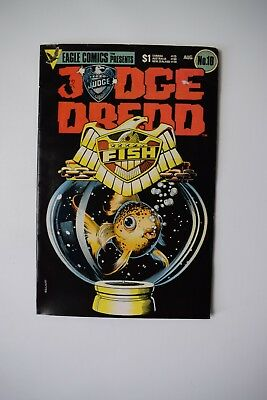 Judge Dredd Vol 1 No 10 He Is The Law August 1984. Eagle Comics Brand New