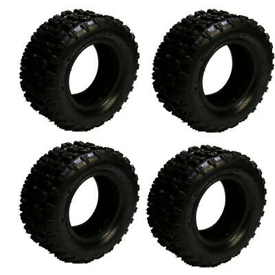 4 of 13x5.00 - 6 Tyre Tire + TUBE ATV QUAD Gokart Scooter Buggy Mower Chairwheel