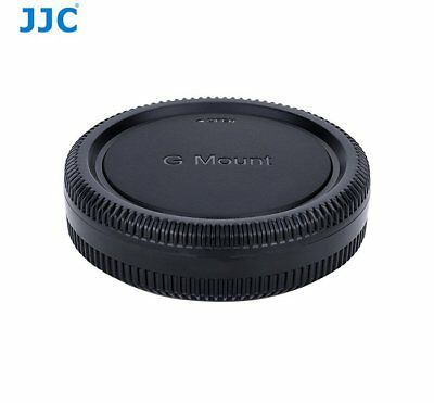 JJC L-RFG Protective Body Cap/Rear Lens Cap for Fujifilm G Mount Camera/Lens _AU