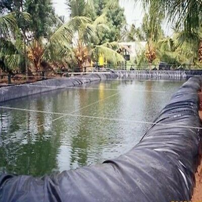 8-32ft Sizes Fish Pond Liner Gardens Pools PVC Membrane Reinforced