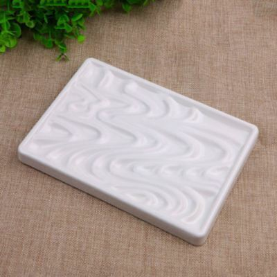 Artist Drawing Wave Imitation Ceramic Watercolor Oil Paint Painting Tray Palette