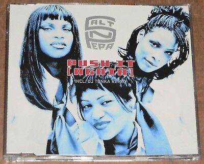 SALT N PEPA : Push It (Again) - 1999 EU 7-track CD EP w/DJ Tonka Remix, Orig Mix