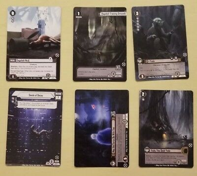 6 Star Wars LCG Promo Cards from GenCon 2018