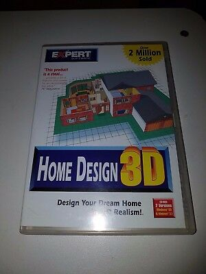 EXPERT SOFTWARE HOME DESIGN 3D Pc CD Rom