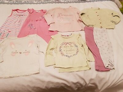 Girls bundle 9-12 months including M&S, Mothercare and more