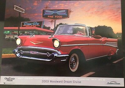 2003 Woodward Dream Cruise Poster