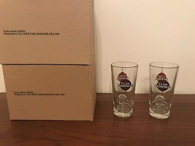 lot de 12 Verres Clan Campbell Neuf conique design